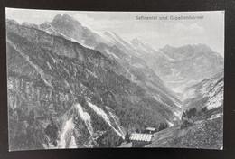 Stechelberg Sefinental Und Gespaltenhörner - BE Berne
