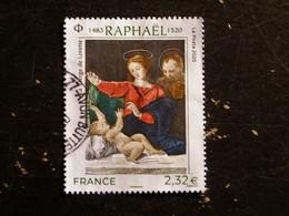 FRANCE YT 5396 OBLITERE - RAPHAEL PEINTRE LA VIERGE DE LORETTE - Usati