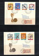 Poland / Polska 1966 World Football Cup England Interesting Registered Letter FDC - 1966 – Inglaterra