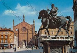CARTOLINA  PIACENZA, EMILIA ROMAGNA, MONUMENTO DI ALESSANDRO FARNESE, VIAGGIATA 1971 - Piacenza