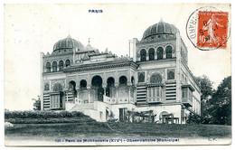 75014 PARIS - L'Observatoire Municipal Du Parc Montsouris - Palais Du Bardo - édition Comptoirs Parisiens Légende Bleue - Paris (14)