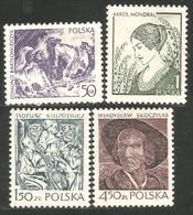AF-96 Pologne Violon Violin Cheval Horse Pferd Caballo Cavallo MNH ** Neuf SC - Caballos