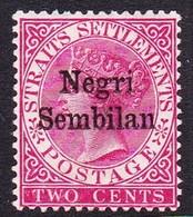 Malaysia-Negri Sembilan SG 1 891 Overprinted On 2c Rose, Mint Hinged - Negri Sembilan