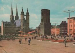 Halle - Marktplatz - 1966 - Halle (Saale)