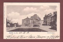 Deutschland - HALLE - Stadttheater - 1902 - Halle (Saale)