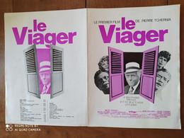 """Affiche Du Premier Film De Pierre TCHERNIA """"LE VIAGER"""" Avec Michel SERRAULT, Michel GALABRU, Rosy VARTE - Posters"""