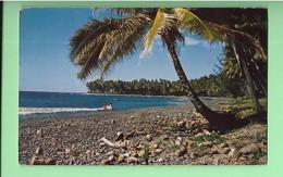 TAHITI---plage De Papenoo--voir 2 Scans - Polynésie Française