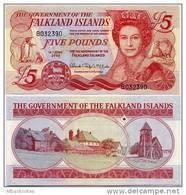 FALKLAND IS.       5 Pounds       P-17a       14.6.2005       UNC - Falkland Islands