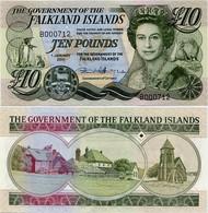 FALKLAND IS.       10 Pounds       P-18       1.1.2011       UNC - Falkland Islands