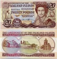 FALKLAND IS.       20 Pounds       P-19       1.1.2011       UNC - Falkland Islands