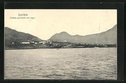 Cartolina Levico, Veduta Generale Col Lago - Other Cities