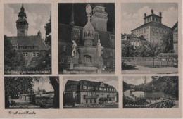 Zeitz - U.a. Am Schwanenteich - Ca. 1950 - Zeitz