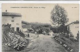 88, Vosges, CHARMOIS L'ORGUEILLEUX, Entrée Du Village,petite Animation, Scan Recto-Verso - Otros Municipios