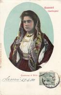 BITTI-SASSARI-COSTUME- CARTOLINA VIAGGIATA IL 29-4-1910-PRODUZIONE CARTOLINA ANNO 1900-1904 - Sassari