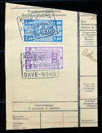 "TR Cachet ""NORD-BELGE - DAVE-NORD"" - (ref. 761) Op Fragment - 1923-1941"