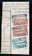 "TR Cachet ""NORD-BELGE - SERAING 1"" - (ref. 763) Op Fragment - 1895-1913"