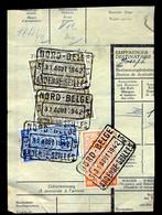 "TR Cachet ""NORD-BELGE - ANDENNE-SEILLES 3"" - (ref. 765) Op Fragment - 1923-1941"
