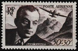 Timbre Aérien Neuf** - Surtaxe Au Profit De L'Entraide Française Antoine De Saint-Exupéry - N° 21 (Yvert) - France 1947 - 1927-1959 Ungebraucht