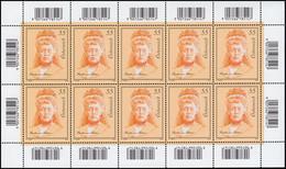 2827 Schriftstellerin Bertha Von Suttner - Kompletter Kleinbogen, Postfrisch ** - Sin Clasificación