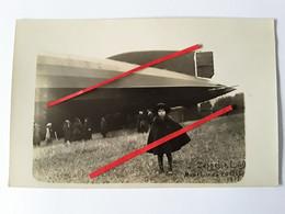 CARTE Postale  BOURBONNE LES BAINS      ZEPPELIN    L 49 - Guerre 1914-18