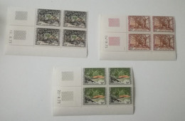Bloc Coin Daté - 1981 Y&T N°559, 560, 561 - MNH ** - Camerún (1960-...)