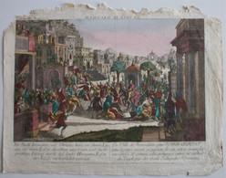 Vue D'Optique/Optische Prent: La Ville De Jerusalem - Prenten & Gravure