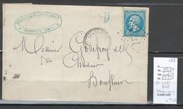 France -  GC 4721 - SERQUIGNY- Eure + Type 22 - 1868 - 1849-1876: Periodo Clásico