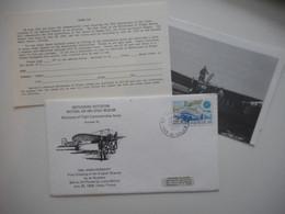 FRANCE-ANGLETERRE, 70° ANNIVERSAIRE DE LA TRAVERSEE DE LA MANCHE LOUIS BLERIOT, 1979 CALAIS AVIATION - Collections