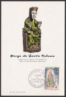 """MiNr. 190 """"Rotes Kreuz"""", 1964, Pass. Maximumkarte, ESst. - Cartas"""