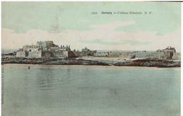 CC - CPA - ROYAUME UNI - JERSEY - Château Elisabeth - Couleurs - - Jersey