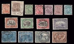 COB N° 135/149 - Bonne Série TB Oblitérée - 1915-1920 Albert I.