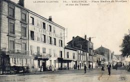 S 4  -  206   -      VALENCE   -     ( 26 )     -        Place  Madier De  Montjau   Et  Rue  Du  Tunnel  - - Valence