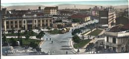 "CARTE PANORAMIQUE "" FORLI . PIAZZALE MANGELI "" + SUPERBE CAMION-REMORQUE "" MAGIRUS Ou  FIAT ? "" CARTE AFFR AU VERSO.2 Sc - Forlì"