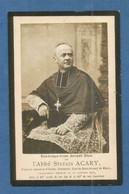 GENEALOGIE FAIRE PART DECES RELIGION  MEMORANDUM ABBE ACARY AUTUN SAINT VINCENT DE MACON 1906 - Avvisi Di Necrologio