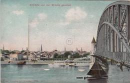 BONN Von Der Brucke Gesehen (carte Système) - Bonn