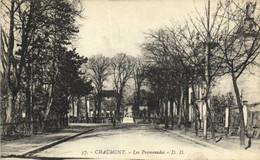 CHAUMONT  Les Promenades Recto Verso - Chaumont