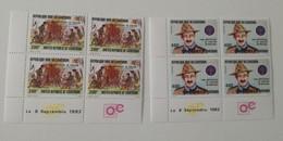 Bloc Coin Daté - 1982 Y&T N°698, 699 - MNH ** - Camerún (1960-...)