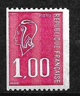 France N° 1895a Marianne De Béquet   Numéro Rouge    Neuf * *  B/TB = MNH F/VF Voir Scans Soldé  ! ! ! - Nuovi