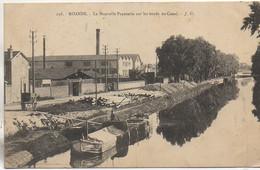 42  ROANNE La Nouvelle Papeterie Sur Les Bords Du Canal Avec Péniche - Hausboote