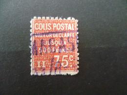 COLIS POSTAUX   N° 98 - Usados