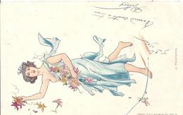 Illustrateur Femme, Imp Weick St Dié, Printemps - 1900-1949