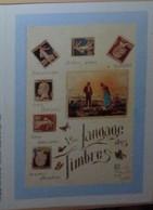 Petit Calendrier De Poche 1990 La Poste Lapalisse Allier - Langage Des Timbres - Small : 1981-90