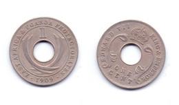 East Africa & Uganda Protectorate 1 Cent 1909 - East Africa & Uganda Protectorates