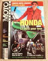 Moto Légende  N° 104  07-08/2000 Honda 125 SL - Cahier Spécial Coupes Moto - Auto/Moto