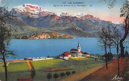 Lac D'Annecy (74) - Eglise De Servier Et La Tournette - Zonder Classificatie