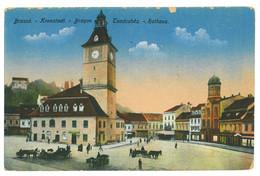 RO 994 - 19593 BRASOV, Market, Romania - Old Postcard - Unused - Roumanie