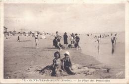 CPA - Saint-Jean De Monts -  La Plage Des Demoiselles - Saint Jean De Monts