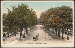 Promenade From South, Cheltenham, Gloucestershire, C.1905 - Postcard - Cheltenham