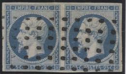 Lot N°179d France N°15 Oblitéré Qualité TB - 1853-1860 Napoléon III