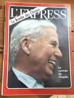 L'express N°694_5-11 Octobre 1964_la Rentrée De Chaplin_la Bombe Des Chinois - Politics